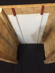 33 Double radiant heat transfer plates (aluminum) 132 feet of pipe coverage $126.00