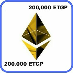 200000 Ethereum-Gold Project (ETGP) MINING-CONTRACT ( ETGP ) Crypto Currency $6.99