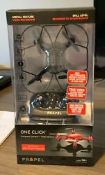 Drone Propel Positron 2.4Ghz Quad Rotor Helicopter Camera Drone Black $25.00