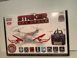 Striker Spy Drone by World Tech Toys Ages 14 and up $30.00