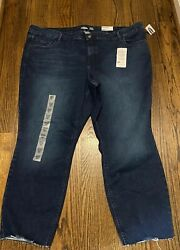 Womens Old Navy Built In Sculpt Lycra Rockstar Ankle Jeans Size 26 NWT $14.99
