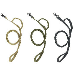 Tactical Training K9 Dog Leash Police 1000d ny Elastic Bungee US Military Canine $8.77