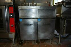 Vulcan Commercial Standing Floor Electric Double Deep Fryer 480V 3 Phase 17kW $3199.99