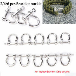 accessories Bracelet Buckles O-Shaped Shackle Buckle Survival Rope Paracords