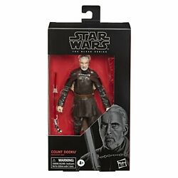 Star Wars The Black Series Count Dooku 6 Inch Action Figure $24.95