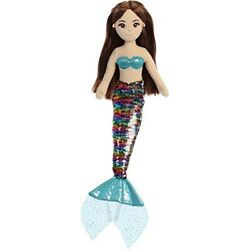 18quot; Sequin Sparkles Miya Mermaid Plush Toy Stuffed Cuddly Gift Doll Dolly $17.35