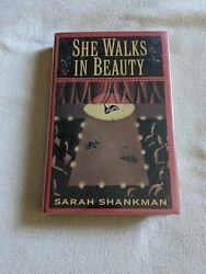 She Walks In Beauty By Sarah Shankman Hardback Signed First Edition