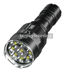 USB Rechargeable LED Flashlight Super Bright Tactical 9500 Lumen IP68 Waterproof $140.01