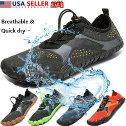 NORTIV8 Water Shoes Quick Dry Barefoot for Swim Diving Surf Aqua Sport Beach $22.79