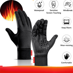 Warm Winter Gloves Motorcycle Scooter Gloves Sports Waterproof Winter Gloves USA $10.99