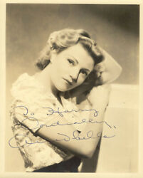 ANNABELLA - INSCRIBED PHOTOGRAPH SIGNED
