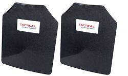 Tactical Scorpion AR500 Level 3 III Body Armor Plates Pair Curved 10 x 12 $89.95
