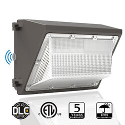 LED Wall Pack Light 80W 120W Dusk to Dawn Commercial Outdoor Security Lighting