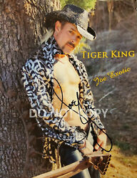 Joe Exotic Tiger King reprint signed 11x14 shirtless poster photo RP  $14.99