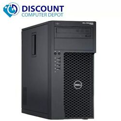 Dell Precision T1700 Computer Tower Core i7 3.4GHz 16GB 2TB HD Windows 10 Pro PC