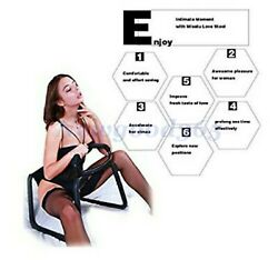 Sex Chair With position Elastic Armrests Bounce Chair Flirt Stool Shade Recliner $128.89