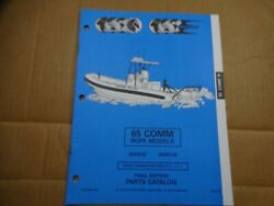 1994 OMC 65 HP commercial rope outboard parts catalog Johnson Evinrude 436450