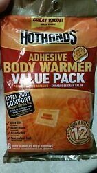 hothands adhesive body warmers value pack exp 42023 $6.50