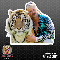 Joe Exotic Tiger King Photo Sticker - Car Decal Netflix Fashion Icon Glam FS3024 $3.99