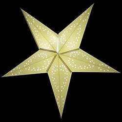 26quot; Solid White Dot Cut Out Paper Star Lantern Hanging Decoration $10.61