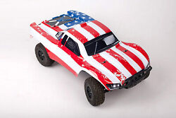 Custom Body Flag Star Style for Traxxas Slash  1/10 4x4 2WD Slayer Shell Cover $34.98