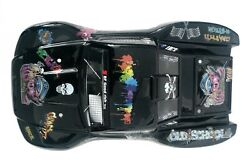 Custom Body Graffiti Black for Traxxas 1/10 Slash 4x4 VXL Slayer Shell Cover $34.98