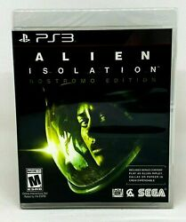 Alien: Isolation - Nostromo Edition - PS3 - Brand New  Factory Sealed $13.99