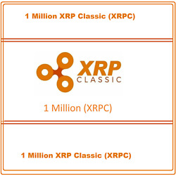 1 Million (1000000) XRP-Classic (XRPC) CRYPTO MINING-CONTRACT Crypto Currency $3.47
