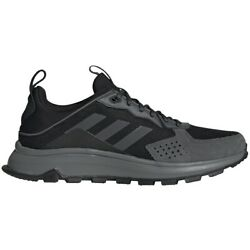Mens Adidas Response Trail Black Athletic Running Shoes EG0001 Size 10.5-12 Wide $64.99