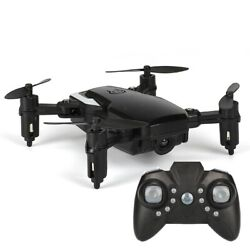Mini Quadcopter Foldable RC Drone without Camera One Battery Support One Key $26.68