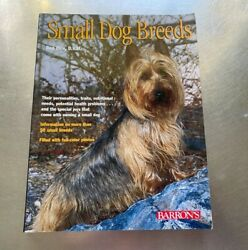 Small Dog Breeds by Dan Rice 2002 Paperback s#6666 $9.99