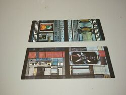 Custom replacement Vintage Kenner Death star wars carcboard panels $35.00