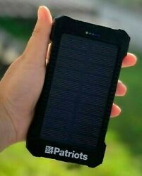 Original Patriot Power Cell USB Solar Charger 4Patriots Brand 2020 NEW IN BOX $49.88