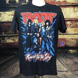 Vintage 80s Original RATT Concert T Shirt Reach For Sky Tour Tee L Heavy Metal $123.45