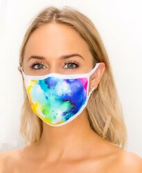 Stylish Breathable Knitted Face Mask in Ladies Bright Colors Washable amp; Reusable $6.98