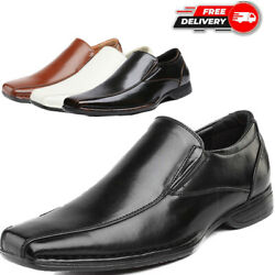 Bruno MARC Mens Loafers Dress Classic Formal Oxfords Slip On Square Toe Shoes $26.34