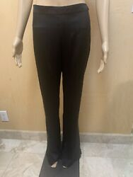 Chanel Black Silk Pants Size 42