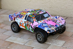 Custom Body Graffiti Pig Style for ARRMA Senton 4x4 3S / 6S BLX Cover Shell $34.98