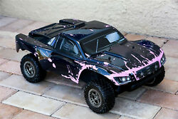 Custom Body Muddy Splash Pink for ARRMA Senton 4x4 3S / 6S BLX Cover Shell Slash $34.98