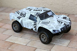 Custom Body Newspaper Style for ARRMA Senton 4x4 3S / 6S BLX Cover Shell Slash $34.98