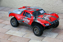 Custom Body Red for ARRMA Senton 4x4 3S / 6S BLX Cover Shell $34.98
