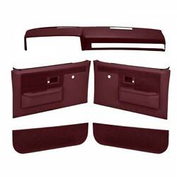 Coverlay 18 601CN MR for Blazer K5 Interior Accs. Kit Maroon Front Left Right $560.14