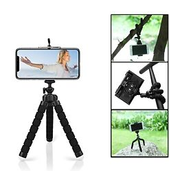 Mini Tripod Flexible Octopus Holder Stand Mount for iPhone Samsung Phone Camera $10.99