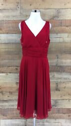 Patra Women#x27;s Cocktail Red Dress Size 16 $28.99
