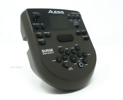 Alesis Surge Drum Module with Power Supply  Wiring Harness  Mount  $99.75
