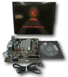 MSI Intel Braswell N3050 DDR3 DDR3L USB 3.1 Mini ITX Motherboard N3050I ECO $81.95