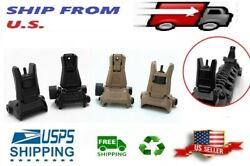 Rifles Low Profile Flip-up Metal Sight Folding Sights Front and Rear  $12.99