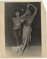 Black Exotic Dance Team ~ original 1950's 8