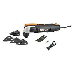 WX686L 2.5 AMP Oscillating Multi Tool with Clip In Wrench $34.99