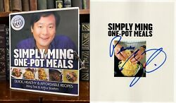 Simply Ming One-Pot Meals HAND SIGNED by Ming Tsai! Cookbook! Quick Meals! $15.40